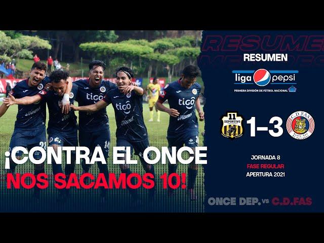¡Nos sacamos un 10! | Once Deportivo 1-3 FAS | Jornada 8 - Apertura 2021
