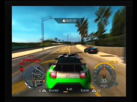 Need For Speed Undercover (PS2): 100 cops wrecked in one ... Ps2 Need For Speed