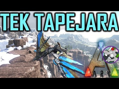 ARK Tapejara Tek Tier Saddle Review - How To Spawn - Plus Survival Guide Explained