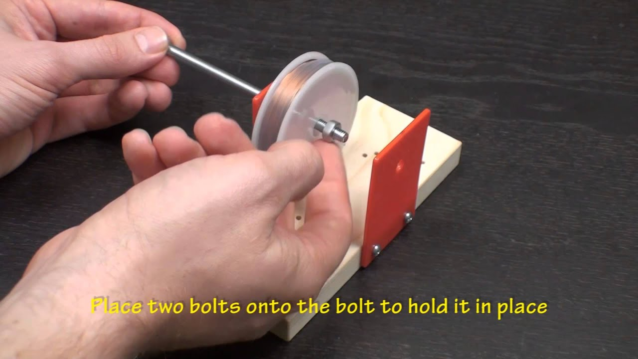 images How to Make a Simple Electric Generator