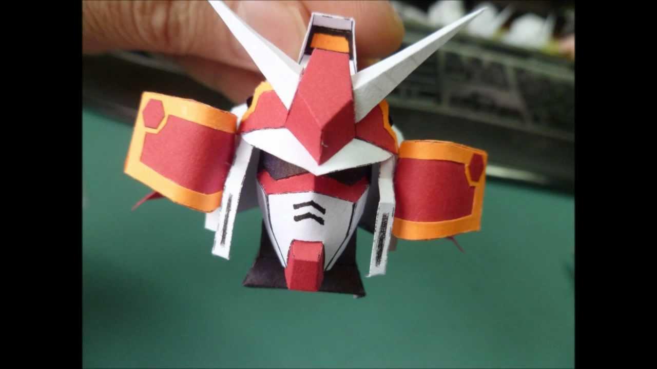 Gundam Papermodel Musha Head