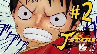 J-STARS Victory VS+ - Campanha do Luffy - Parte 2: Batalhas Tensas! [ Playstation 4 - Playthrough ]