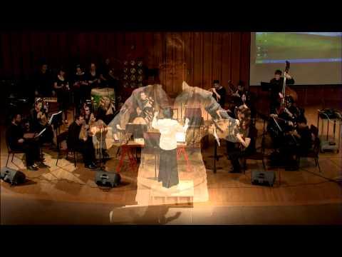 Chinese Music Ensemble - Traditional Han Chinese Folk Tune, arr. Er Nie - Jin She Kuang Wu
