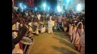 "Girls dancing with ""Chendamelam"""