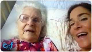 Mom with Alzheimer