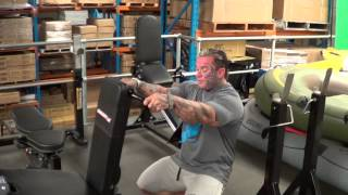 BARBARIAN Leg Extension vs Mr Universe Lee Priest