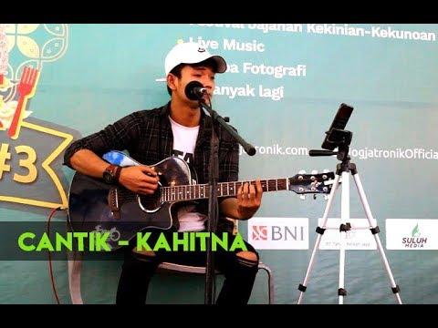 "SUARA EMAS SANG PENGAMEN JOGJA...!!! Cantik - Kahitna Cover By Tri Suaka ""Musisi Jogja Project"""