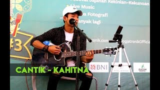 SUARA EMAS SANG PENGAMEN JOGJA...!!! Cantik - Kahitna cover by Tri Suaka