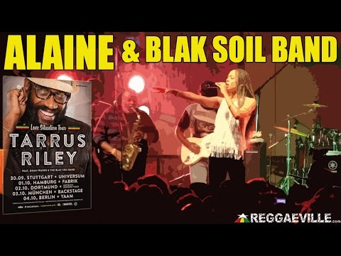 Alaine & The Blak Soil Band with Dean Fraser - Better Than This in Dortmund, Germany [2014]