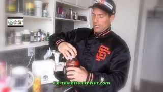 Daily Juicing, superfoods and herbs for ENERGY, health, weight loss.