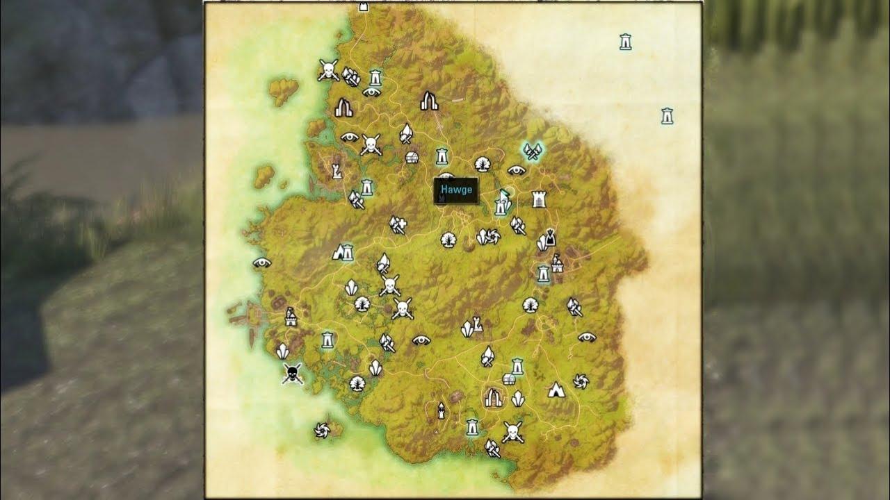 Elder Scrolls Online Treasure Map Vi Gr 252 Nschatten