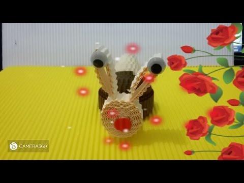 DIY cute snail from corrugated paper / kokoru paper
