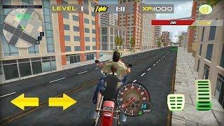 Bike Bus Driving In The Big City Game    Tuk Tuk Auto Bike Taxi Rickshaw Game    Bike Racing Game