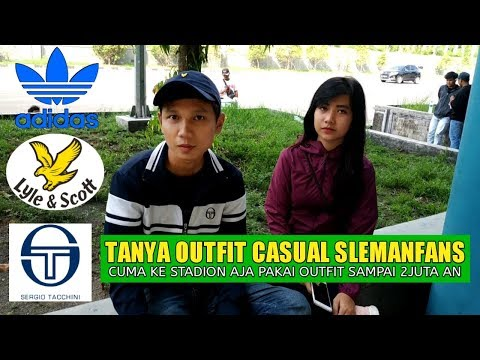 Bahas OutFit Casual Suporter Slemanfans