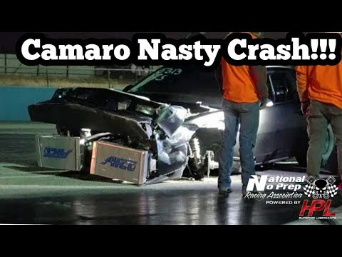 Procharged Iroc Nasty Crash at Winter Meltdown No Prep