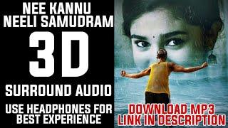 3D | Nee Kannu Neeli Samudram 3D Surround Audio | Uppena | Telugu 3D songs | Sometime 3D