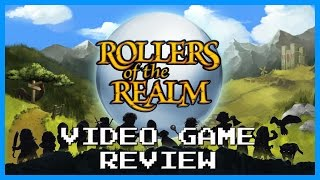 Rollers of the Realm Game Review, RPG + Pinball???