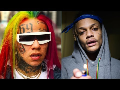 6ix9ine Clowns Squidnice Posting Old Video of Squid Getting Handled and Responds Back to tekashi69