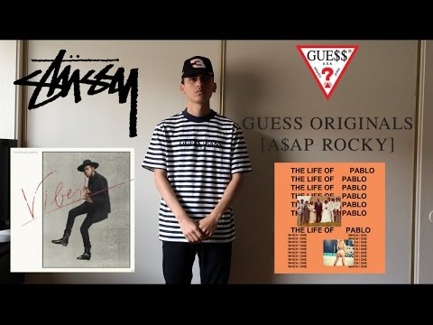 84967779c2 ASAP ROCKY x GUESS Tee & Stussy Theophilus London Shirt! New PickUps! -  YouTube