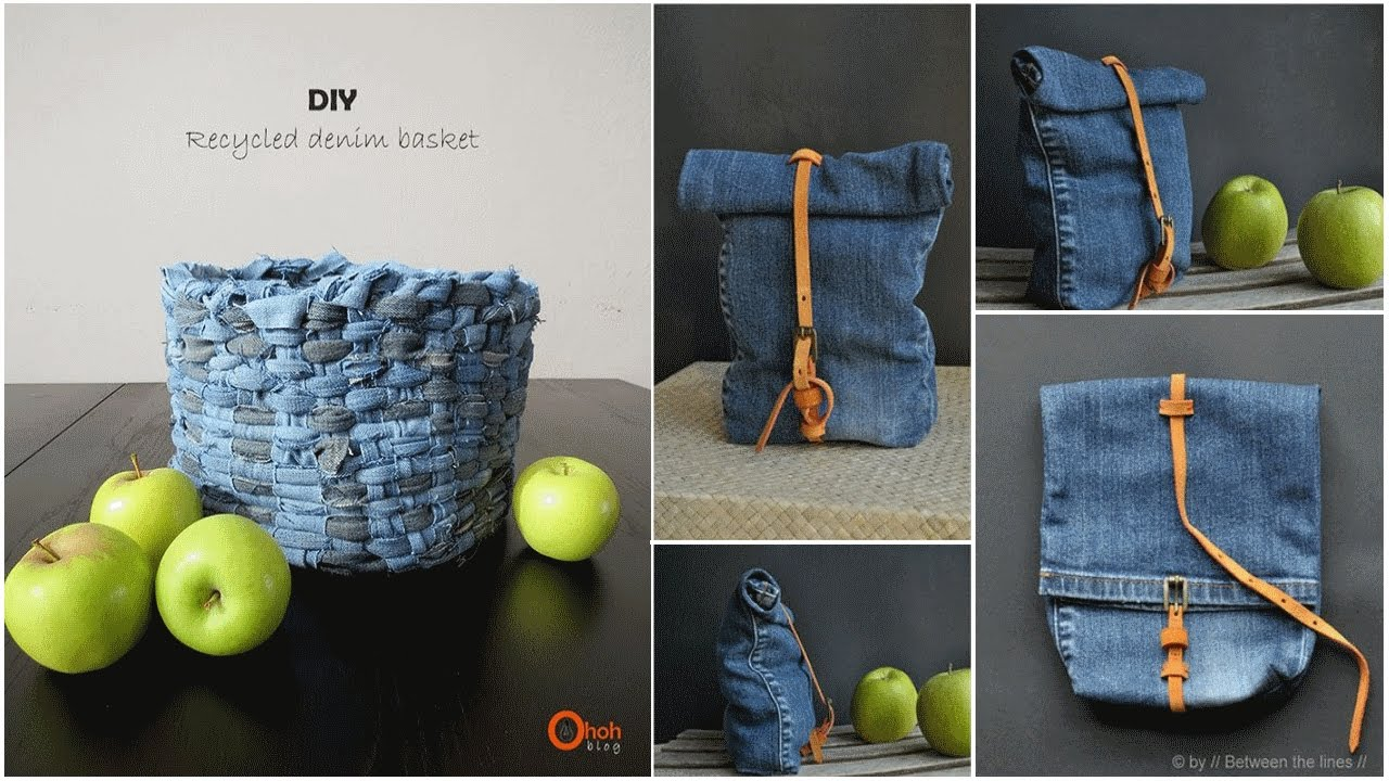 Fun things and creative can you do with your old jeans for Creative things to do with paint