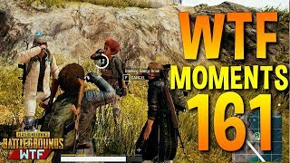 PUBG Funny WTF Moments Highlights Ep 161 (playerunknown's battlegrounds Plays)