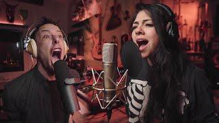 What Is Love (metal cover by Leo Moracchioli feat. Priscila Serrano)