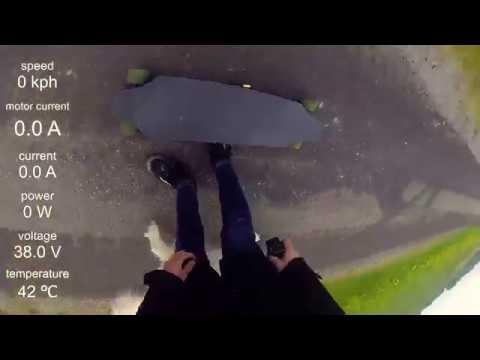 DIY Eskate Ride (With Data Overlay) - Twiske