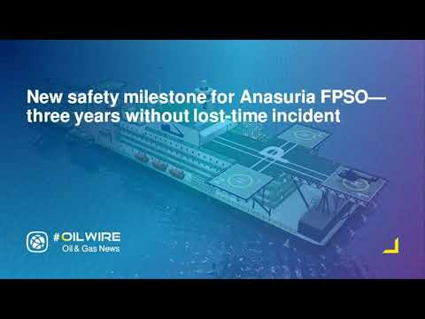New safety milestone for Anasuria FPSO—three years without lost-time incident
