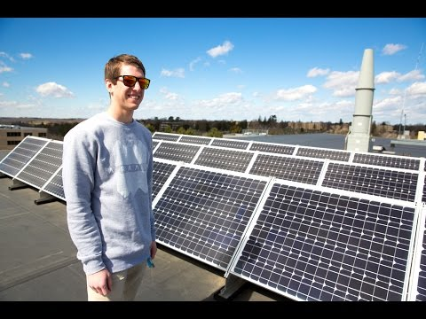 Sustainable and Renewable Energy Systems at UW-Platteville:  Kyle Onesti