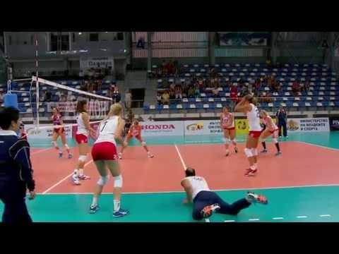 140816 World Grand Prix Group 3 Semifinal: Czech Republic - Croatia