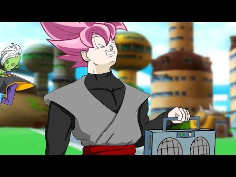 Trunks vs Goku Black EPIC RAP BATTLE! (DBS Parody)