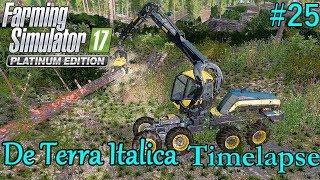 FS17 Timelapse, De Terra Italica #25: Into The Forest!