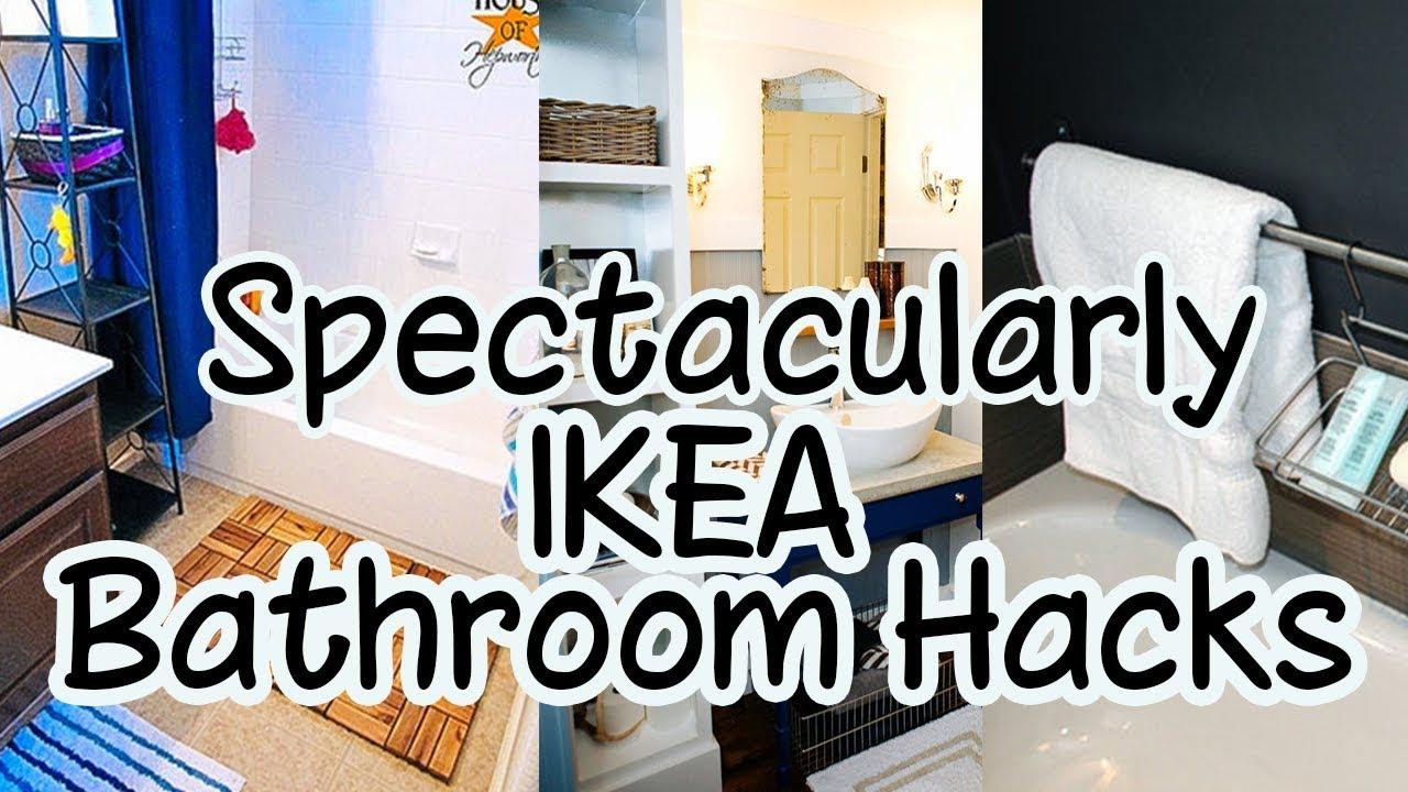 10 Spectacularly IKEA Bathroom Hacks