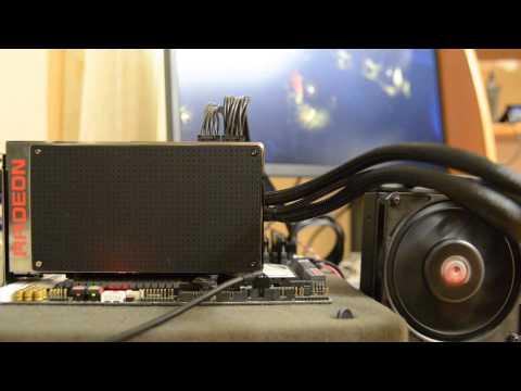 AMD Radeon R9 Fury X Noise test