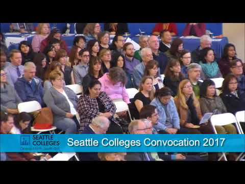 Seattle Colleges Convocation 2017