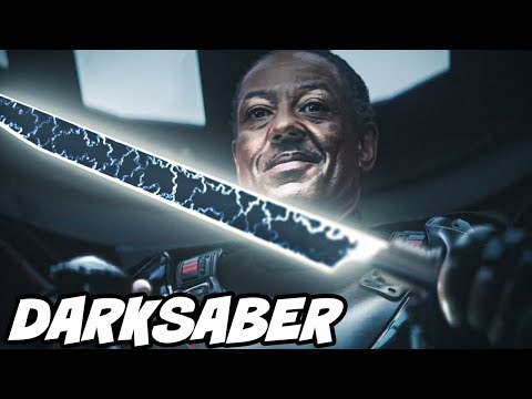 THE DARKSABER Fully Explained [IMPORTANT] - Star Wars Explained