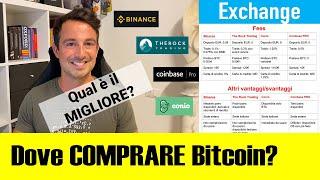 Dove COMPRARE BITCOIN in EURO? (AGGIORNATO 2020) - I Migliori Exchange