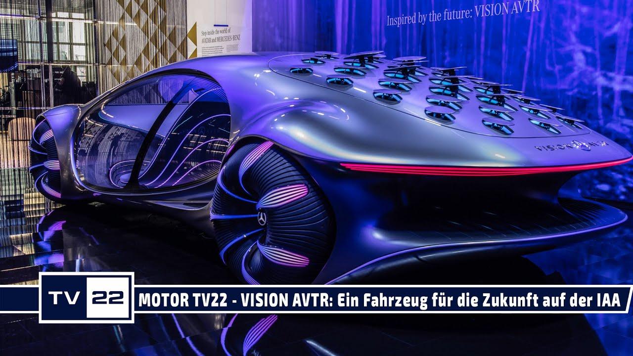 VISION AVTR von Mercedes-Benz & die Kraft der Gedanken zur Steuerung IAA Mobility 2021 - MOTOR TV22