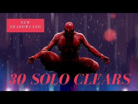 Shadowland  - Floors 1 - 30 - Using only one hero per floor! - Marvel Future Fight