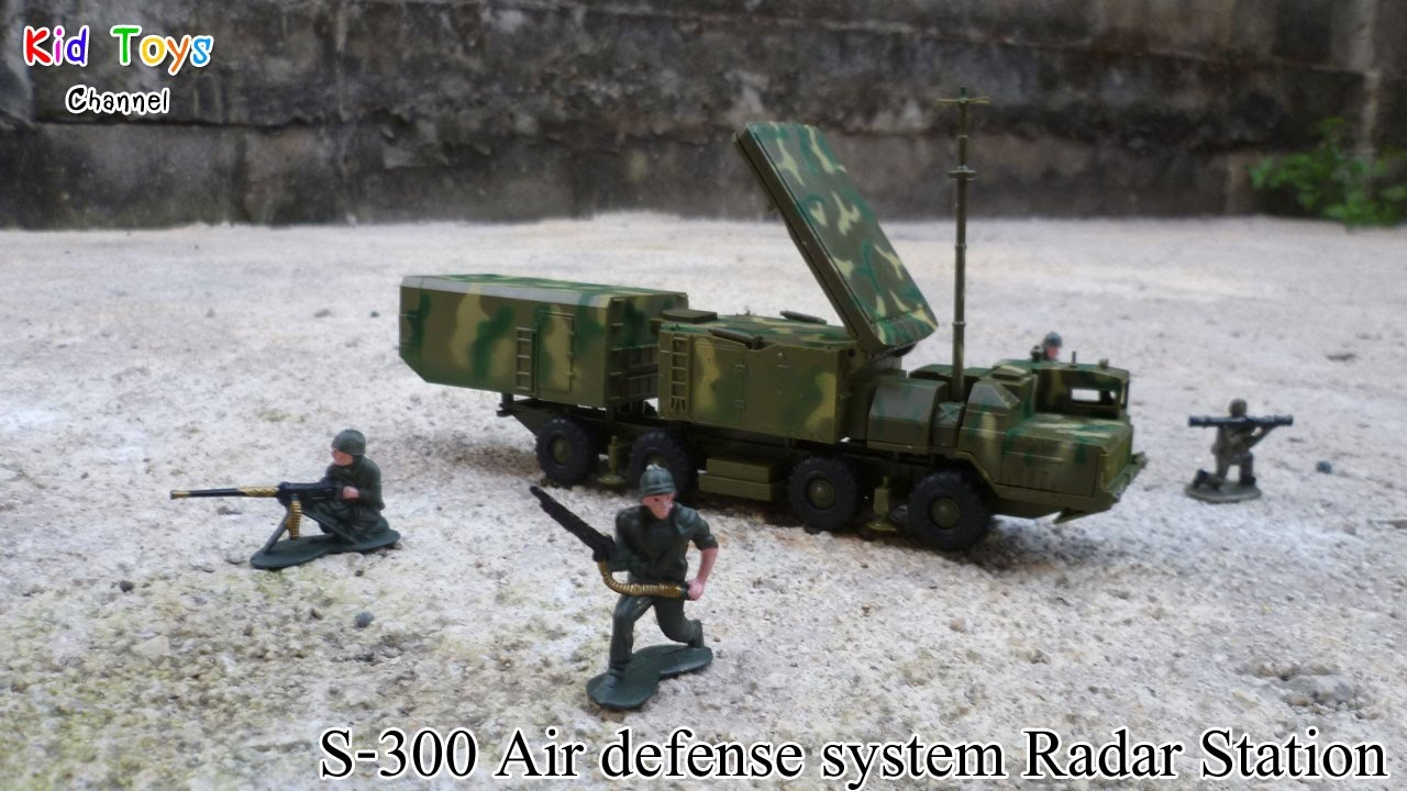 1:72 Russian SA-10 S-300 Grumble Missile Systems Model Kits 30N6E2 Radar Car