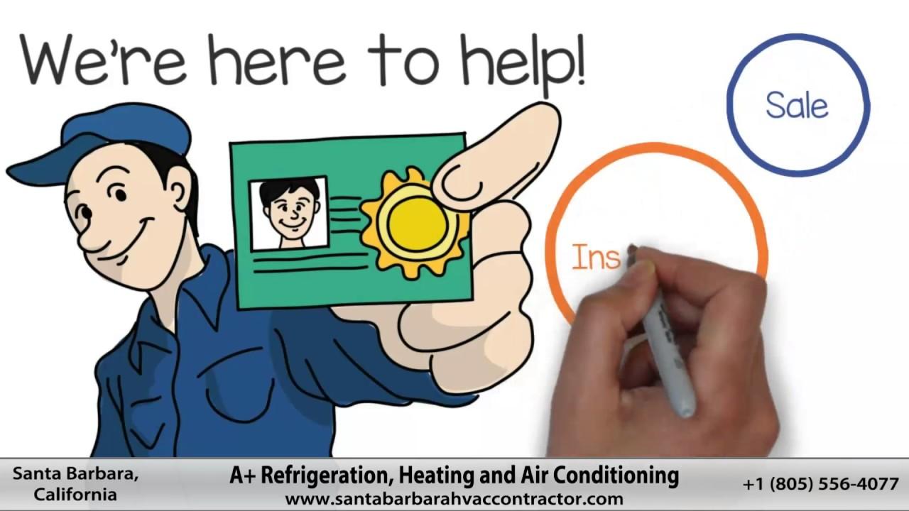 HVAC SERVICE •Santa Barbara, CA • A+ Refrigeration Heating & Air
