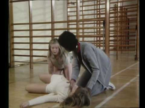 Grange Hill Series 3 Sally Forsyth Collapses In Gym