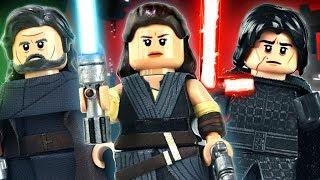 LEGO The Last Jedi : Rey, Luke, & Kylo Ren - Showcase