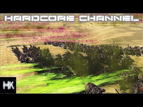 Total War Warhammer 2   прохождение Hardcore Скавены 8 Варп Шторм