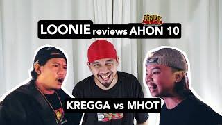 LOONIE | BREAK IT DOWN: Rap Battle Review E11 | AHON 10: KREGGA vs MHOT