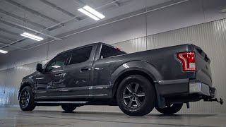Lowering a 4WD Ford F-150 (Part 1/2)