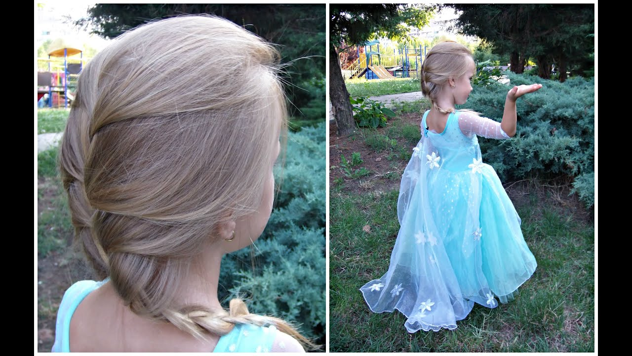 Elsa Hairstyles For Cute Girls Youtube