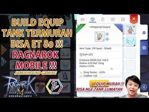 Build Equip termurah utk free player TANK bisa nyampe lantai 80 Ragnarok Eternal Love