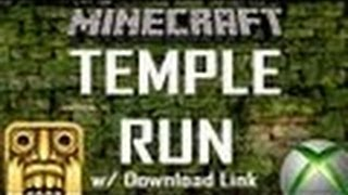 TEMPLE RUN! w/ Download Link Minecraft: Xbox 360