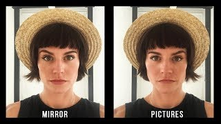 Why You Look Better in The Mirror Than In Photos - 9 Reasons